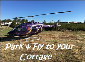 Park & Fly to the Cottage